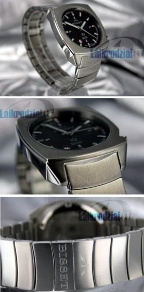 Men's watch BISSET Mateplate XB2DB41SIBR05BX Paveikslėlis 3 iš 9 30069605815
