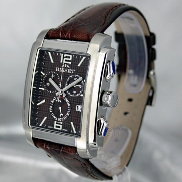 Vyriškas laikrodis BISSET New Moon BSCX26 MS BR BR Paveikslėlis 1 iš 7 30069605724
