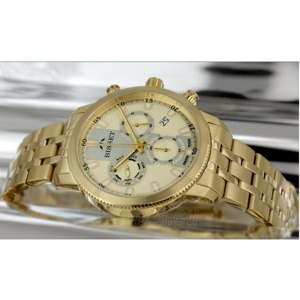 Male laikrodis BISSET Paris BSDE02GIGS05AX Paveikslėlis 1 iš 2 30069610109