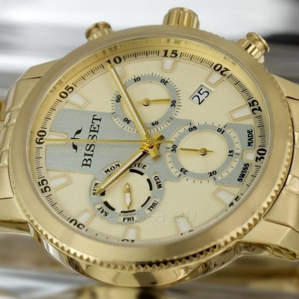 Male laikrodis BISSET Paris BSDE02GIGS05AX Paveikslėlis 2 iš 2 30069610109