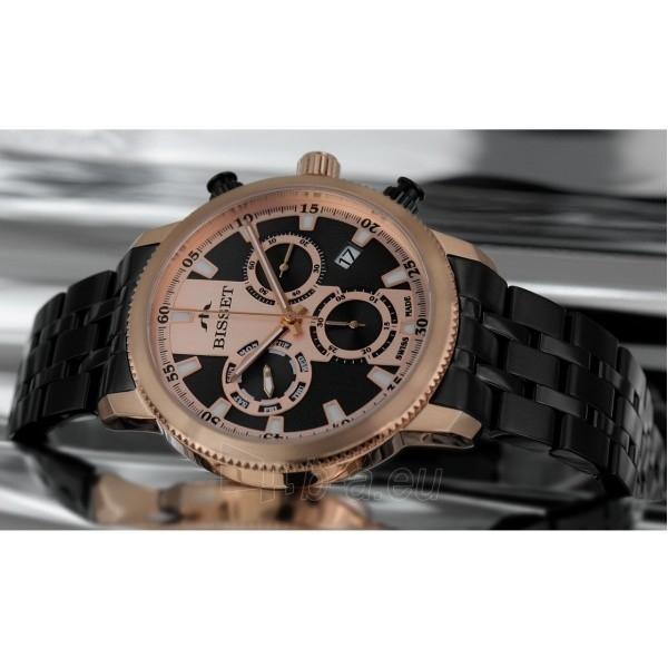 Male laikrodis BISSET Paris BSDE02TIRB05AX Paveikslėlis 1 iš 2 30069610111