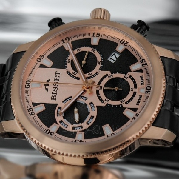 Male laikrodis BISSET Paris BSDE02TIRB05AX Paveikslėlis 2 iš 2 30069610111