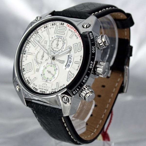 Vīriešu pulkstenis BISSET Royal-Sport III BSCC79MSWHBK Paveikslėlis 1 iš 7 310820008987