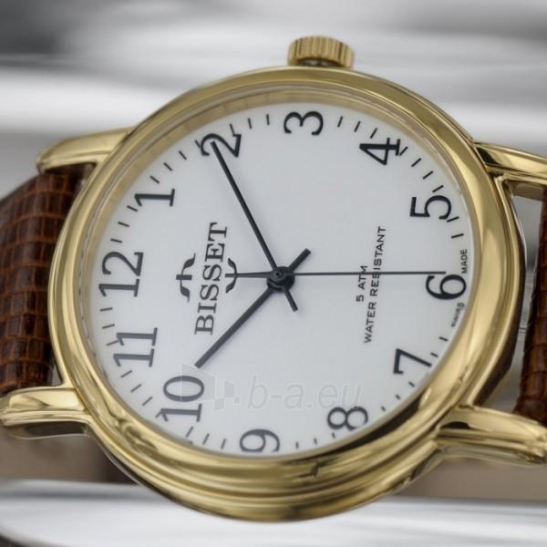 Vyriškas laikrodis BISSET Sakson BSCD60GAWX05BX Paveikslėlis 2 iš 9 30069605735