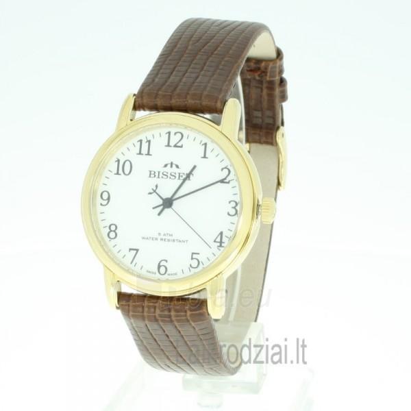Vyriškas laikrodis BISSET Sakson BSCD60GAWX05BX Paveikslėlis 3 iš 9 30069605735