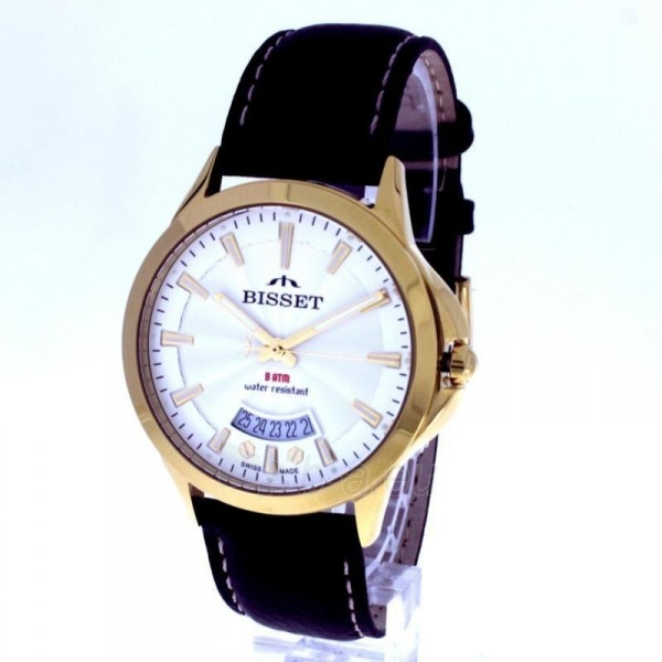 Vyriškas laikrodis BISSET Septimus BSCD15GISX05BX Paveikslėlis 3 iš 9 30069605742
