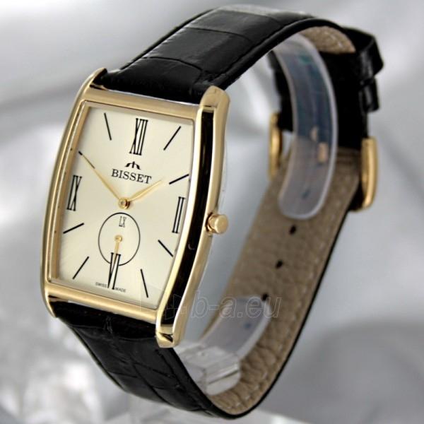 Vyriškas laikrodis BISSET Slim Palu BS25C35 MG GD BK Paveikslėlis 1 iš 6 30069605746