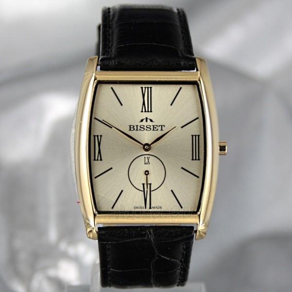 Vyriškas laikrodis BISSET Slim Palu BS25C35 MG GD BK Paveikslėlis 2 iš 6 30069605746
