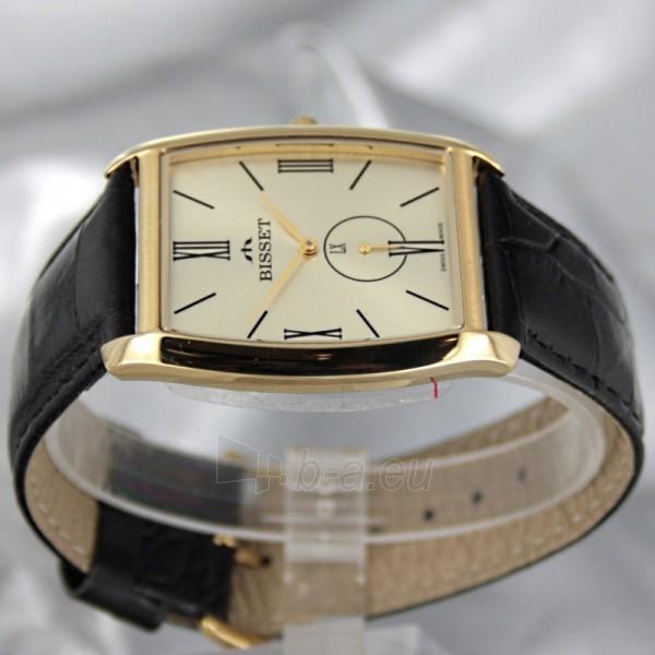 Vyriškas laikrodis BISSET Slim Palu BS25C35 MG GD BK Paveikslėlis 3 iš 6 30069605746