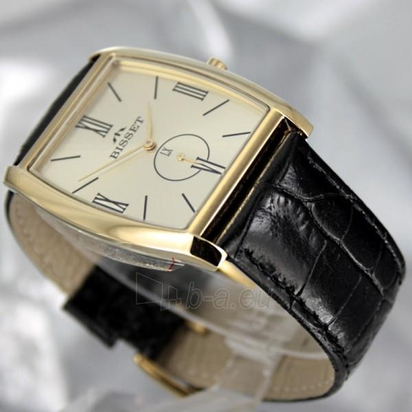 Vyriškas laikrodis BISSET Slim Palu BS25C35 MG GD BK Paveikslėlis 4 iš 6 30069605746