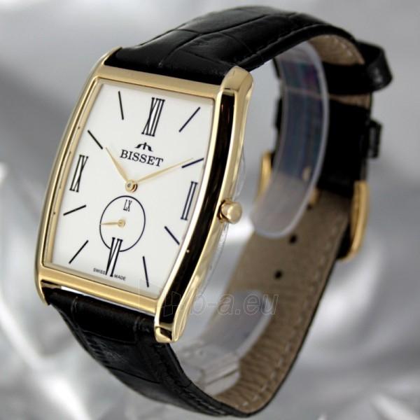 Vyriškas laikrodis BISSET Slim Palu BS25C35 MG WH BK Paveikslėlis 1 iš 6 30069605747