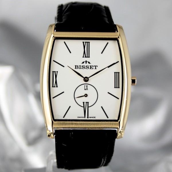 Vyriškas laikrodis BISSET Slim Palu BS25C35 MG WH BK Paveikslėlis 2 iš 6 30069605747