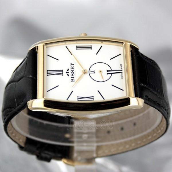 Vyriškas laikrodis BISSET Slim Palu BS25C35 MG WH BK Paveikslėlis 3 iš 6 30069605747