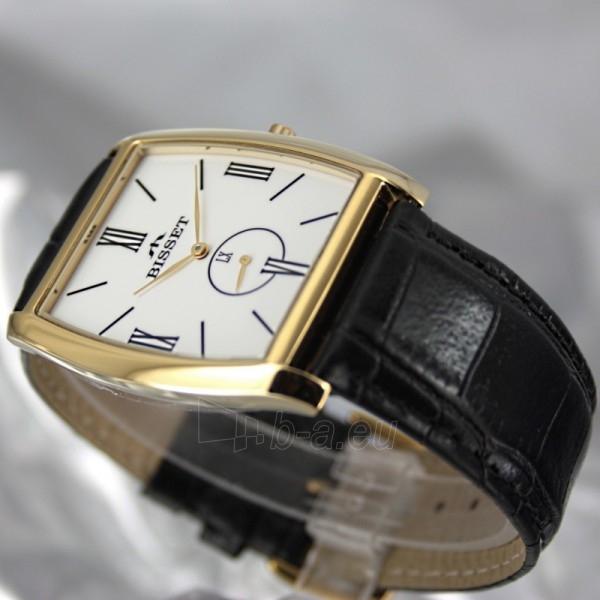 Vyriškas laikrodis BISSET Slim Palu BS25C35 MG WH BK Paveikslėlis 4 iš 6 30069605747