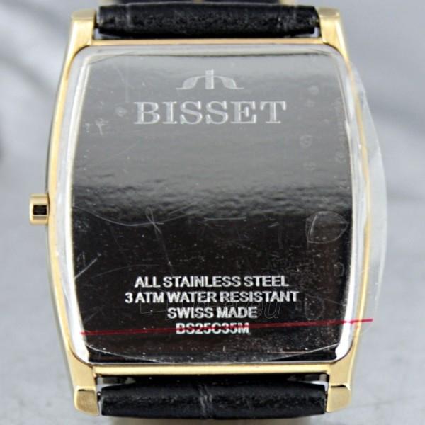 Vyriškas laikrodis BISSET Slim Palu BS25C35 MG WH BK Paveikslėlis 6 iš 6 30069605747