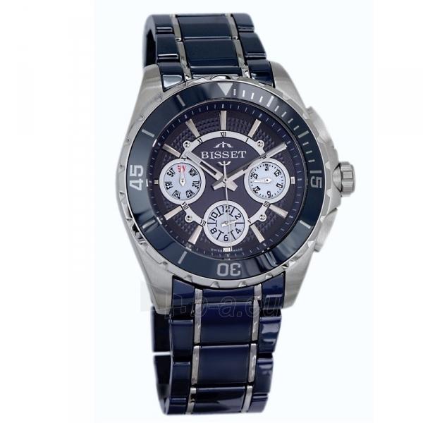 Male laikrodis BISSET Solaris BSFD97SIDW10BX Paveikslėlis 1 iš 3 30069610813