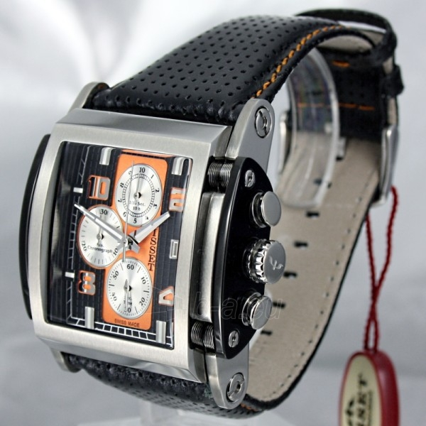 Vīriešu pulkstenis BISSET Spring BSCC63TMBR05AX Paveikslėlis 1 iš 8 30069605755