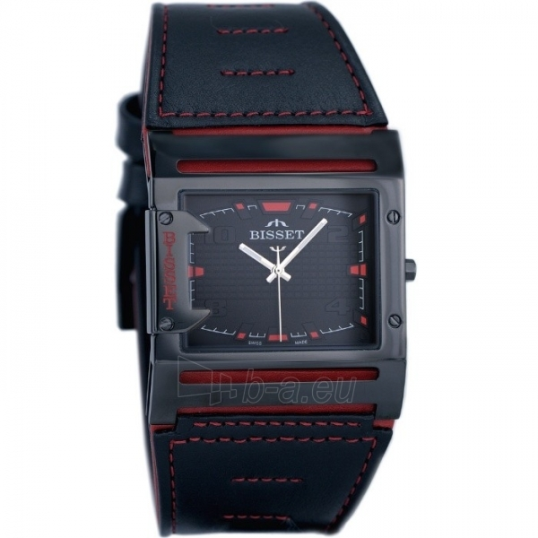 Male laikrodis BISSET Thirteen M6M BSCD29BIBR03BX Paveikslėlis 2 iš 3 30069606705