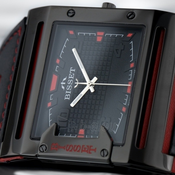 Vyriškas laikrodis BISSET Thirteen M6M BSCD29BIBR03BX Paveikslėlis 3 iš 3 30069606705