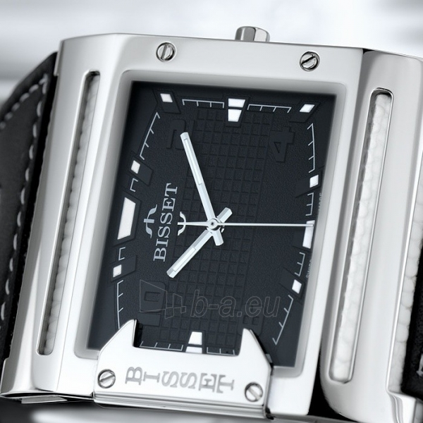 Male laikrodis BISSET Thirteen M6M BSCD29SIBX03BX Paveikslėlis 1 iš 3 30069606706