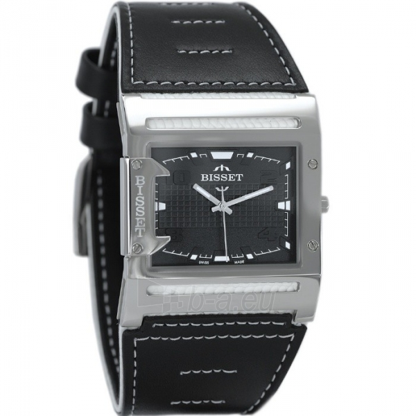Male laikrodis BISSET Thirteen M6M BSCD29SIBX03BX Paveikslėlis 2 iš 3 30069606706