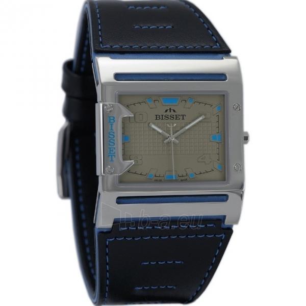 Male laikrodis BISSET Thirteen M6M BSCD29SIVD03BX Paveikslėlis 2 iš 3 30069606707