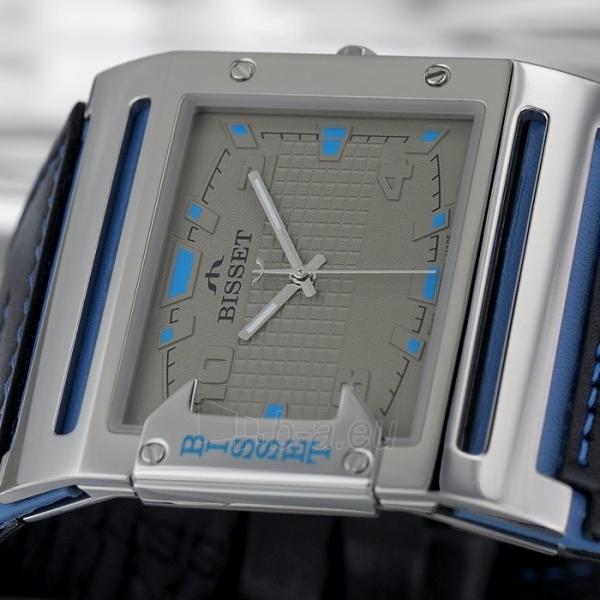 Male laikrodis BISSET Thirteen M6M BSCD29SIVD03BX Paveikslėlis 3 iš 3 30069606707