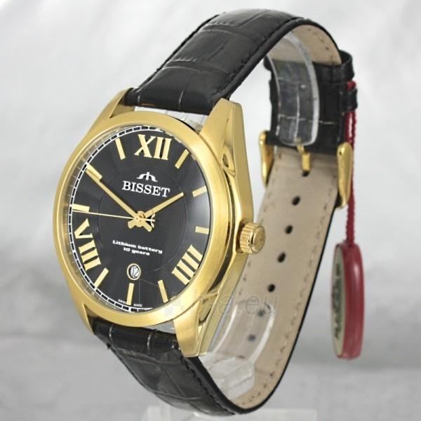 Vyriškas laikrodis BISSET Totenchout Steel BS25C15 MG BK BK Paveikslėlis 1 iš 7 30069605918