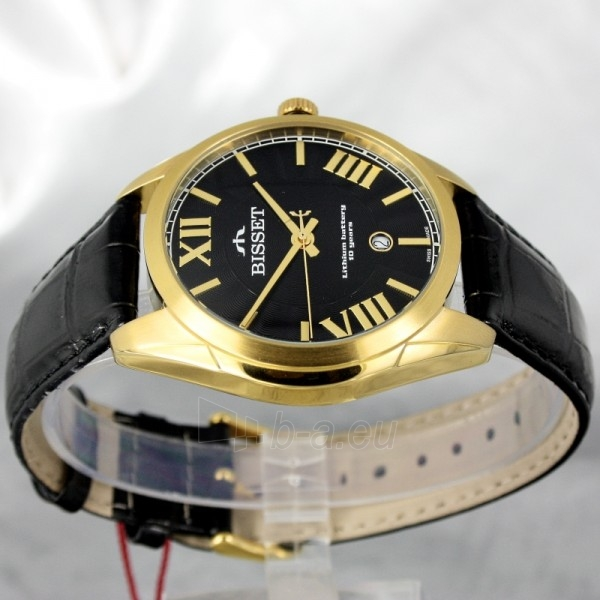 Vyriškas laikrodis BISSET Totenchout Steel BS25C15 MG BK BK Paveikslėlis 3 iš 7 30069605918