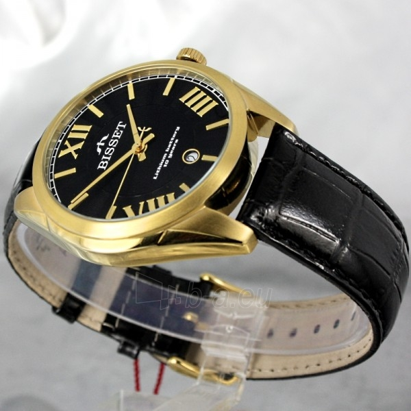 Vīriešu pulkstenis BISSET Totenchout Steel BS25C15 MG BK BK Paveikslėlis 4 iš 7 30069605918