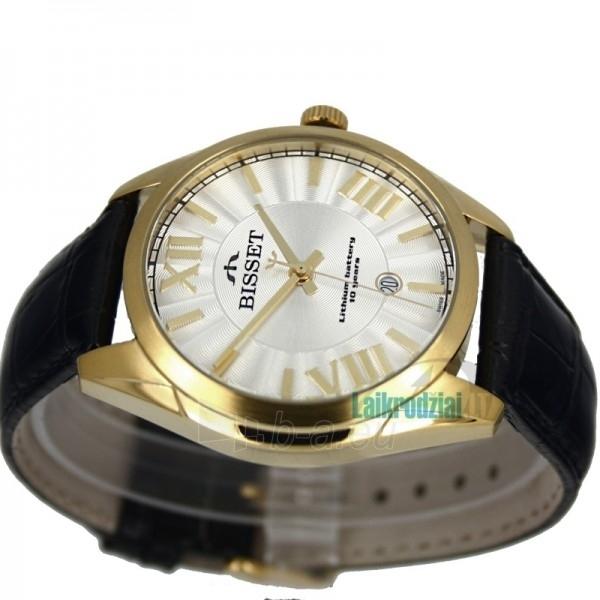 Vyriškas laikrodis BISSET Totenchout Steel BS25C15 MG WH BK Paveikslėlis 2 iš 5 30069605919
