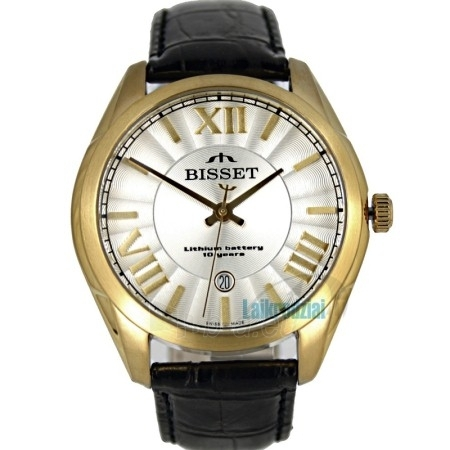 Vyriškas laikrodis BISSET Totenchout Steel BS25C15 MG WH BK Paveikslėlis 3 iš 5 30069605919