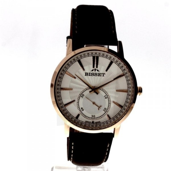 Vyriškas laikrodis BISSET Triptic I BSCC05RISX05BX Paveikslėlis 9 iš 9 30069605922