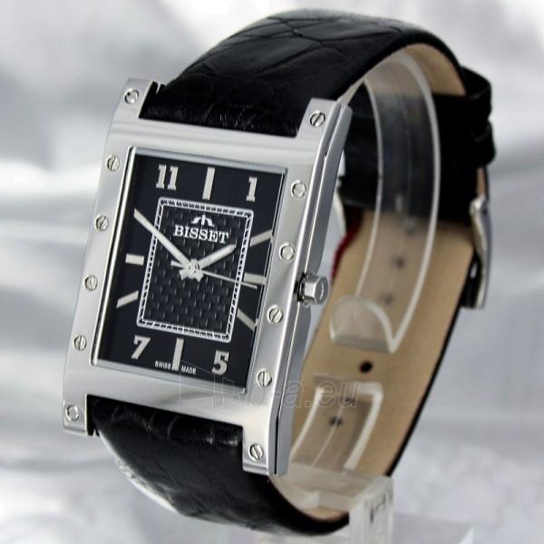 Vyriškas laikrodis BISSET Twelve BSCC81 MS BK BK Paveikslėlis 1 iš 6 30069605924
