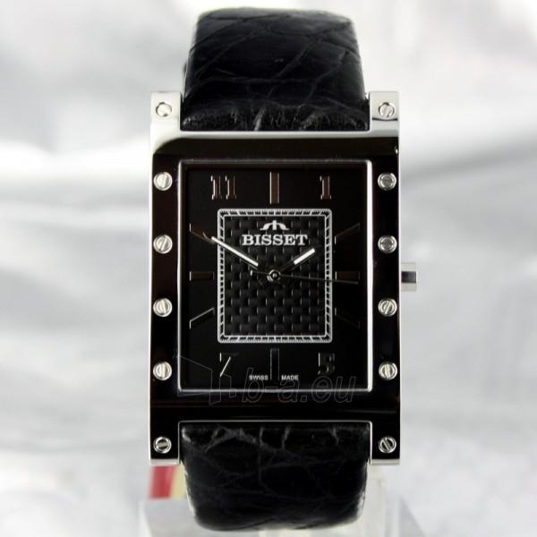 Vyriškas laikrodis BISSET Twelve BSCC81 MS BK BK Paveikslėlis 6 iš 6 30069605924