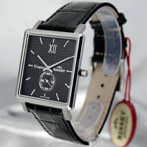 Vīriešu pulkstenis BISSET Winchester BS25X07 MS BK BK Paveikslėlis 1 iš 6 30069605932