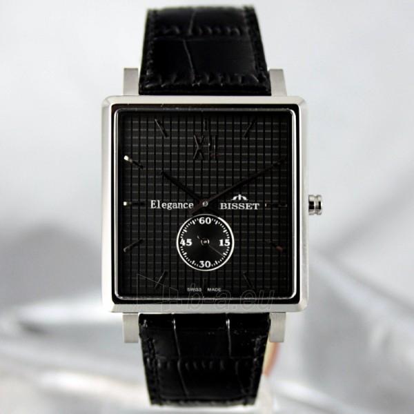 Vīriešu pulkstenis BISSET Winchester BS25X07 MS BK BK Paveikslėlis 2 iš 6 30069605932