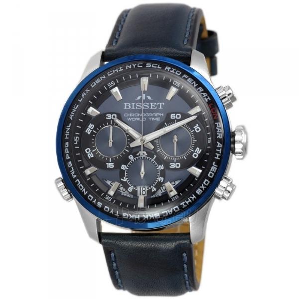 Vyriškas laikrodis BISSET World Time BSCE87SIDX05AX Paveikslėlis 1 iš 3 310820152091