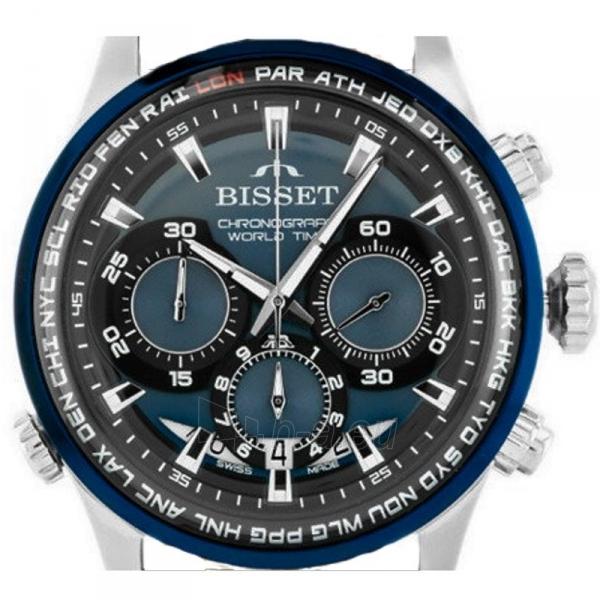 Vyriškas laikrodis BISSET World Time BSCE87SIDX05AX Paveikslėlis 2 iš 3 310820152091