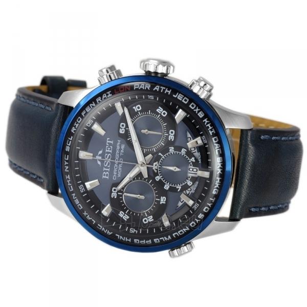 Vyriškas laikrodis BISSET World Time BSCE87SIDX05AX Paveikslėlis 3 iš 3 310820152091