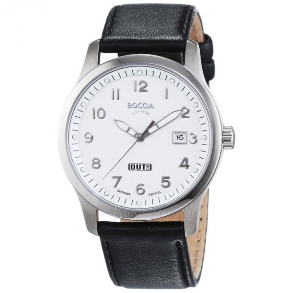 Men's watch Boccia Titanium 3530-01 Paveikslėlis 1 iš 1 30069601237
