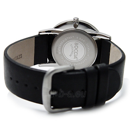 Men's watch Boccia Titanium 3540-02 Paveikslėlis 3 iš 4 30069601248