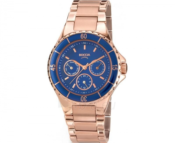 Men's watch Boccia Titanium 3760-01 Paveikslėlis 1 iš 1 30069601833