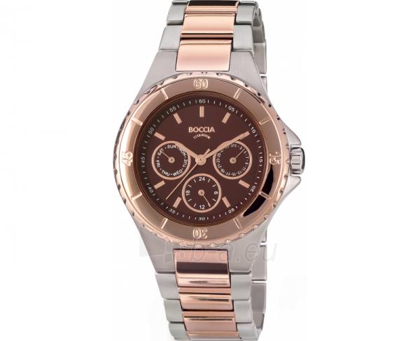 Vyriškas laikrodis Boccia Titanium 3760-03 Paveikslėlis 1 iš 1 30069601835