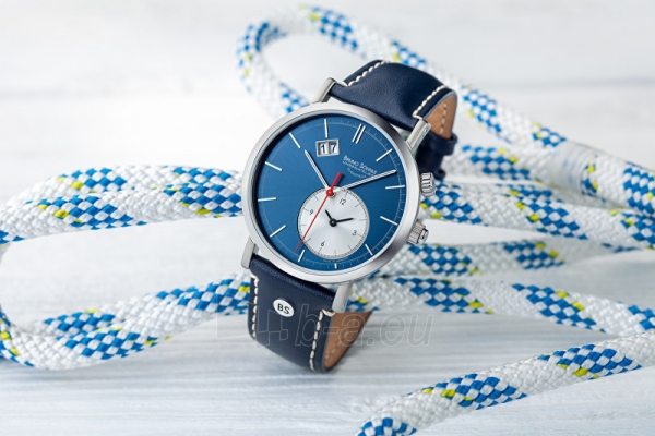 Male laikrodis Bruno Söhnle Lago GMT 17-13156-241 Paveikslėlis 3 iš 4 310820119193