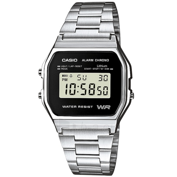 Vīriešu pulkstenis Casio A158WEA-1EF Paveikslėlis 1 iš 5 310820104974
