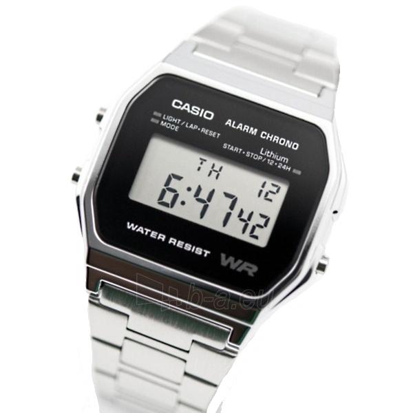 Vīriešu pulkstenis Casio A158WEA-1EF Paveikslėlis 2 iš 5 310820104974