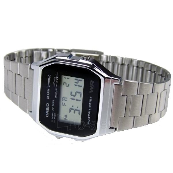 Vīriešu pulkstenis Casio A158WEA-1EF Paveikslėlis 4 iš 5 310820104974