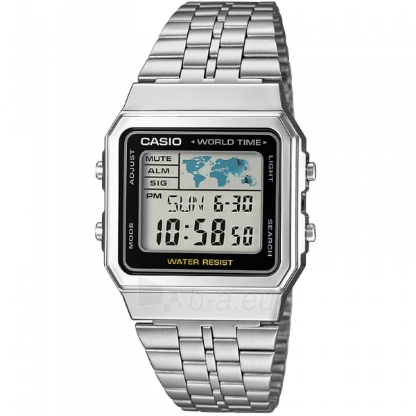 Vīriešu pulkstenis Casio A500WEA-1EF Paveikslėlis 1 iš 3 30069606784