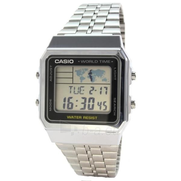 Vīriešu pulkstenis Casio A500WEA-1EF Paveikslėlis 2 iš 3 30069606784
